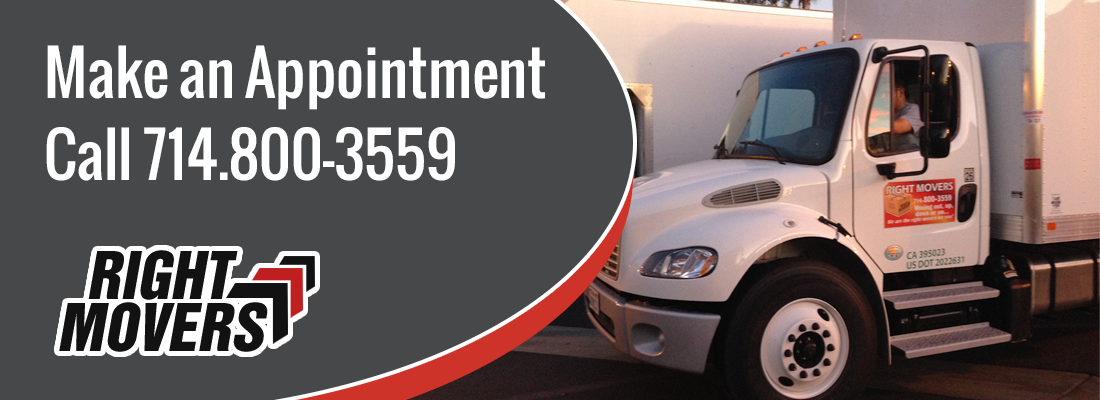 Orange County Moving Company - Make an Appointment